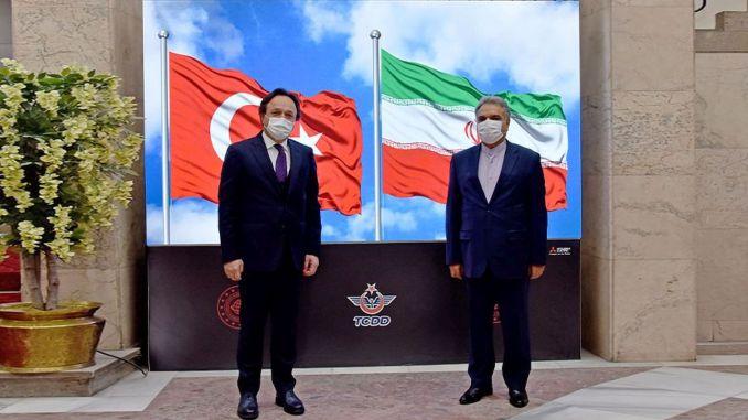 republic of iran ankara grandmaster visited tcdd