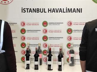 Kilograms of liquid cocaine were seized at Istanbul airport