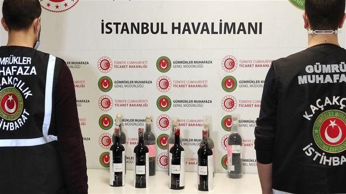 İstanbul hava limanında kiloqram maye kokain ələ keçirildi