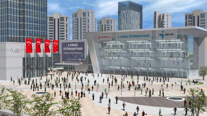 The employer will meet the job seeker at the virtual employment fair