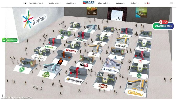 izfas opened its first virtual fairs with its own digital infrastructure