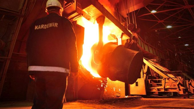 Kardemir liquid steel production exceeded its target of million tons