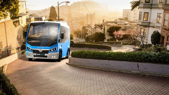 pearl gesture electric delivery from karsan to french giant