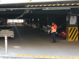 Outbreak control in parking lots across Kocaeli