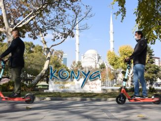 electric scooter period in konya