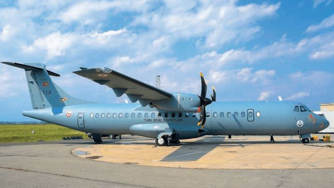 The first p marine patrol aircraft was put into service in the breeze project