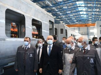 Serial production of the national electric train set begins