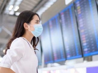 In the pandemic, domestic line flights decreased by percent.