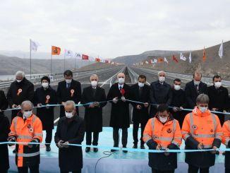 Sarikamis Karakurt, Khorasan road opened to traffic