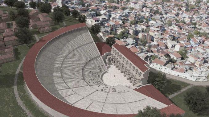 Soyerin Smyrna Ancient Theater Explanation World Press