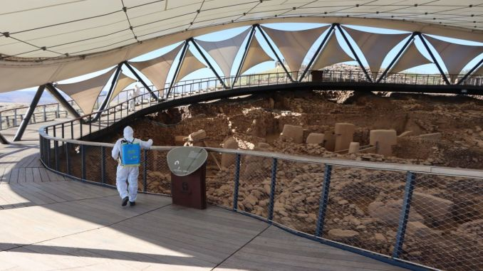 Gobeklitepe was disinfected at the zero point in history