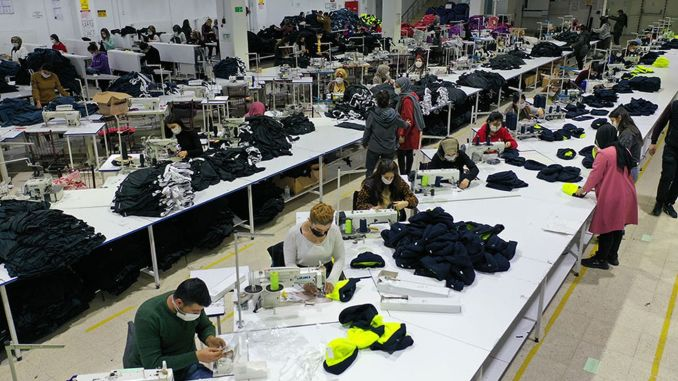 textile's new utility van tekstilkent employs a thousand people