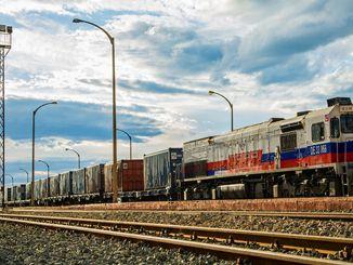 Morgen gaat de eerste trein van de export naar China United de weg op