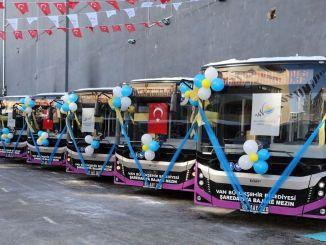 new bus service started in van