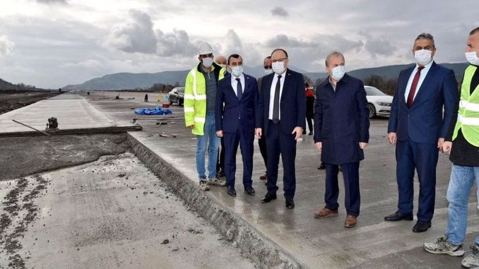 Zonguldak airport runway works have come to an end