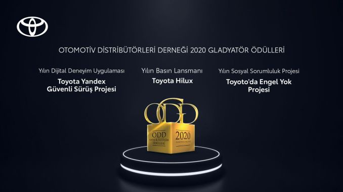 Gran premio para Toyota de ODD