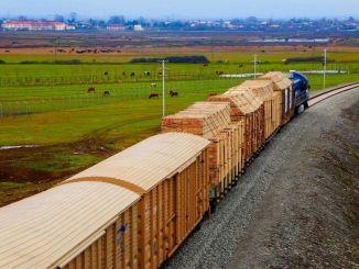زيادة حجم نقل البضائع في محطة Ady Express Astara