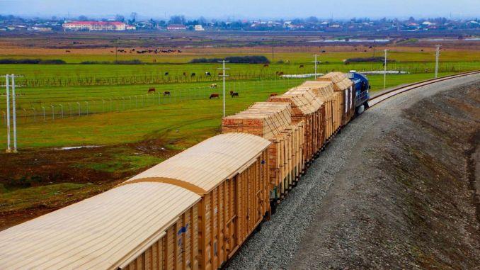 increased the volume of cargo transportation in ady express astara terminal