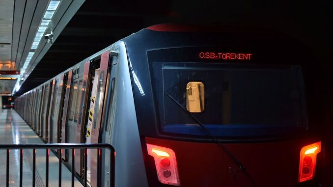 Ankara metro signaling software renewal work has been completed.