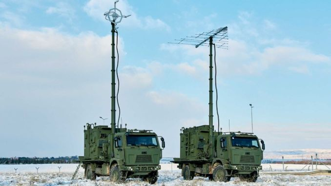 Delivery of the updated electronic attack system from ASELSAN to MILKAR