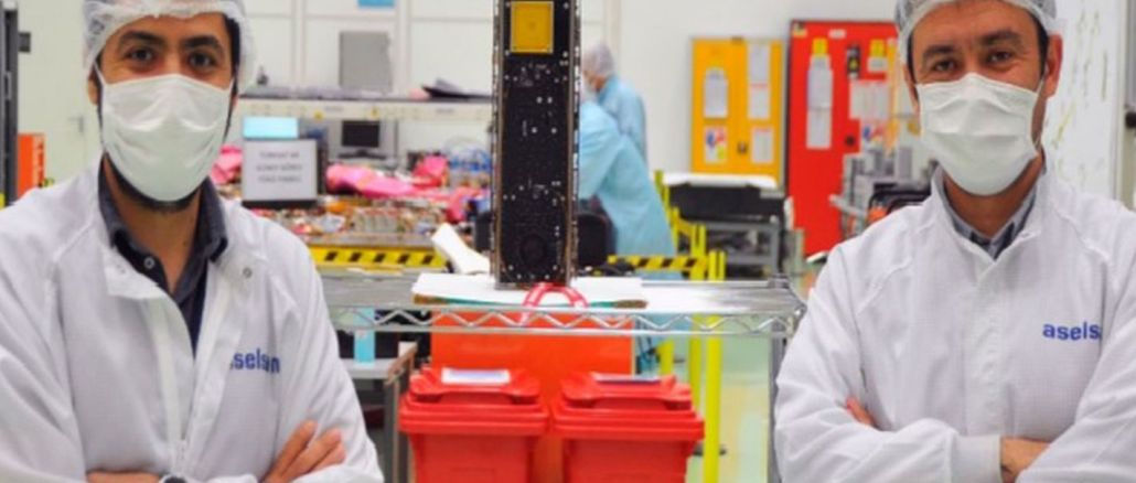 aselsat satellite sent to the south with falcon rocket