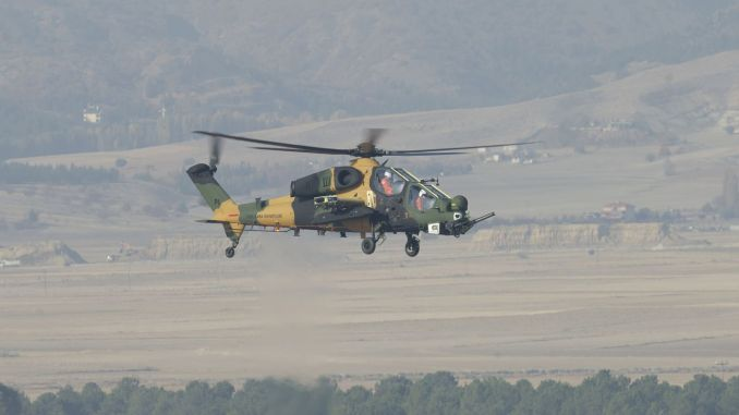 The attack phase helicopter's qualification tests have been successfully completed.