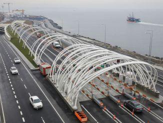 Euraasian tunnelin ylitysmaksu on jälleen korkeampi