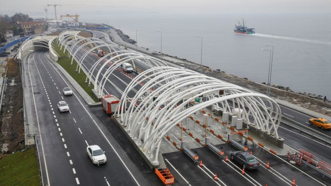 Eurasia tunnel crossing fee is higher again