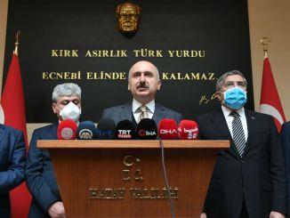 Amanos Tunnel Mujdesi von Minister Karaismailogl