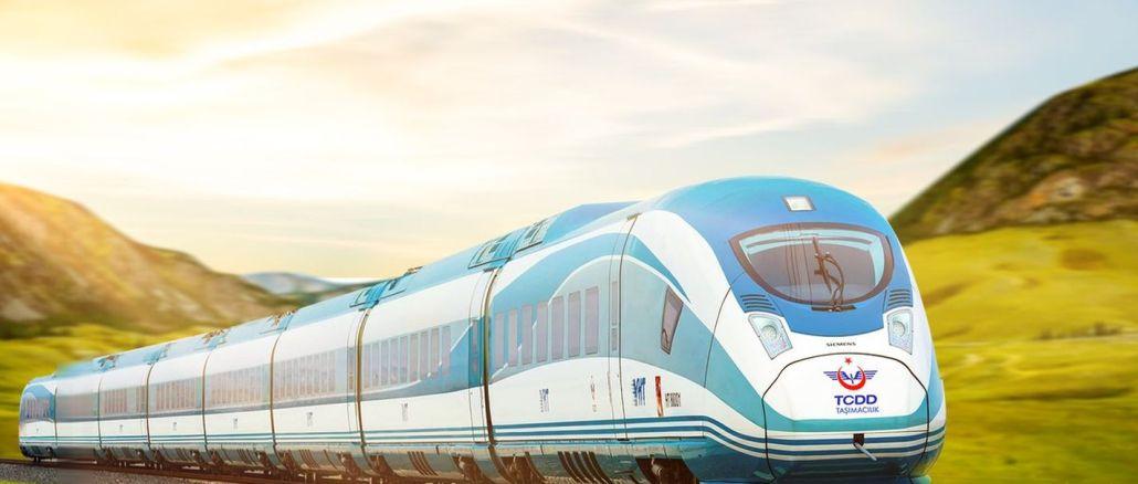 bursa yenisehir ซึ่งเป็นรถไฟความเร็วสูงแห่งแรกในงาน