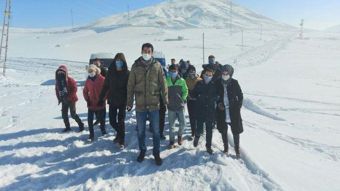 caldiran thermal ski resort season started