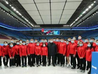 predsjednik jina xi jinping zima ispitivao je pripreme za olimpijske igre