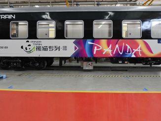 genie first panda train awaits those who want to explore the pandas' homeland