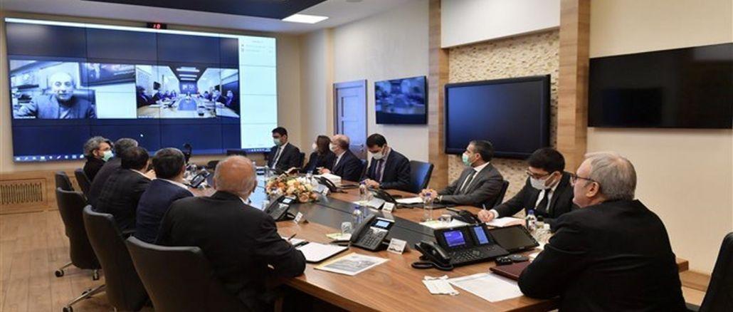 Phiên bản cuối cùng của dự án vịnh hậu cần diyarbakir đã được đưa lên bàn