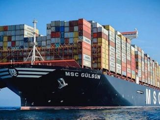 أكملت أكبر سفينة حاويات في العالم msc gulsun رحلتها الأولى