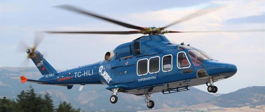 La première livraison de l'hélicoptère polyvalent gokbey sera également effectuée