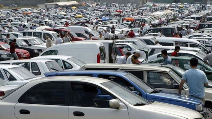 second-hand car sales also increase by at least a percentage