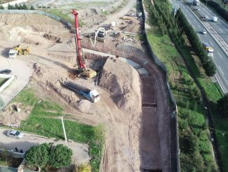 Stage works of the ilimtepe road started
