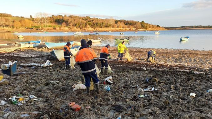 Dam goals of Istanbul are being cleaned