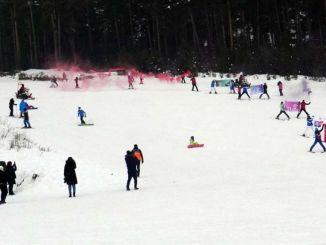 傑克隊進行了喀斯特滑雪示範以提高災害敏感性