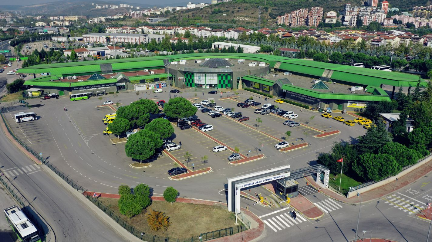 Kocaeli bus terminal welcomes million visitors a year