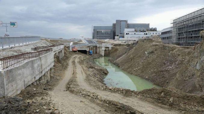 Kocaeli city hospital tram line construction started