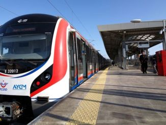 The work that will reduce the train services to the minute in the Marmaray