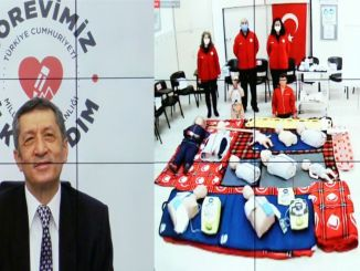 Minister of National Education Selcuk initiated first aid education mobilization project