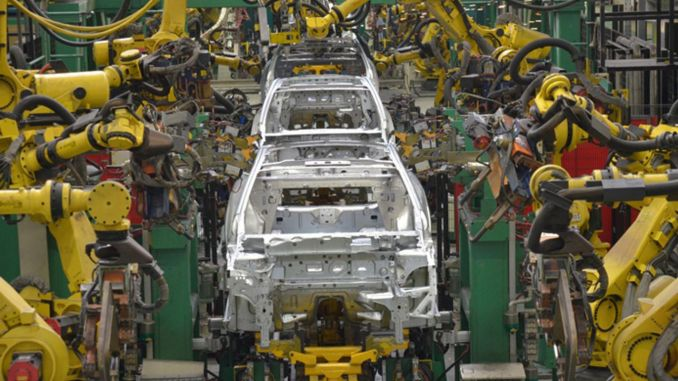 export percentage decreased in automotive