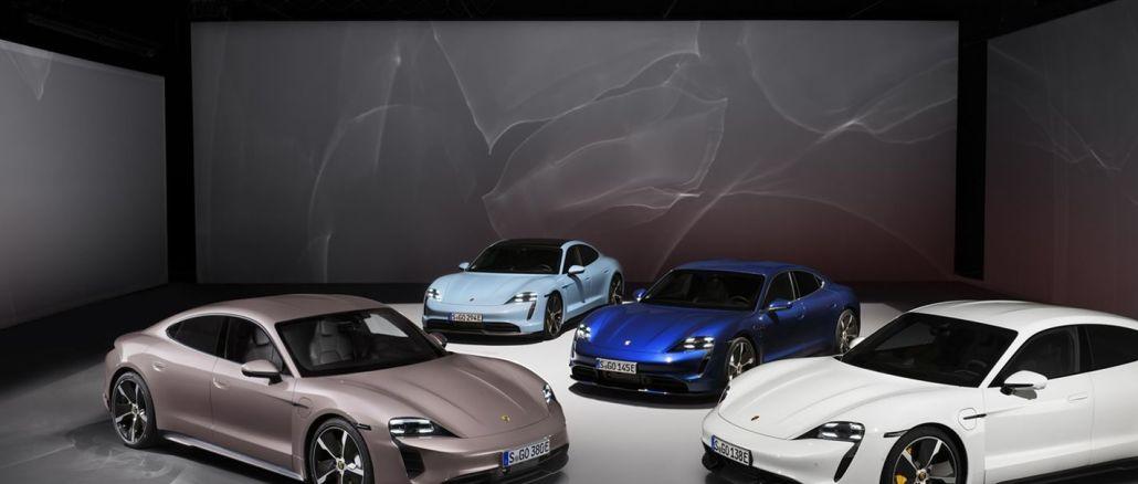 Porsche Taycan utökar sitt modellutbud