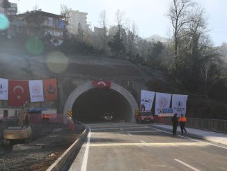 The annual dream salarha tunnel in Rize has reduced the minute road to the minute