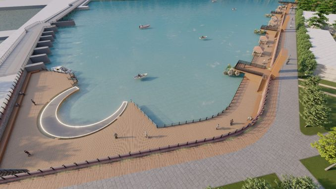 Recreation project started on the Sakarya river coast