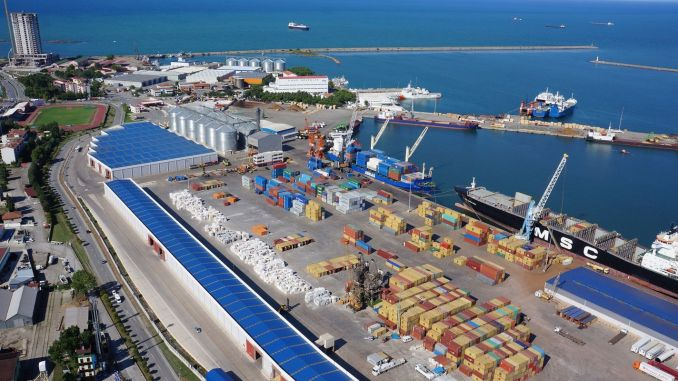 turkiyenin northern gate to Samsun logistics center logistics sector