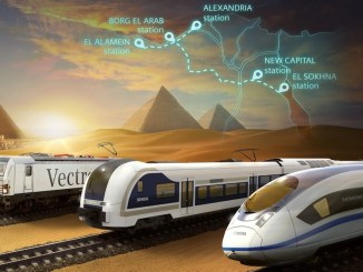 siemens Egypt speed train